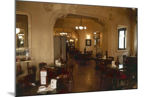 Interiors of a Cafe, Cafe Tommaseo, Trieste, Friuli-Venezia Giulia, Italy--Mounted Giclee Print