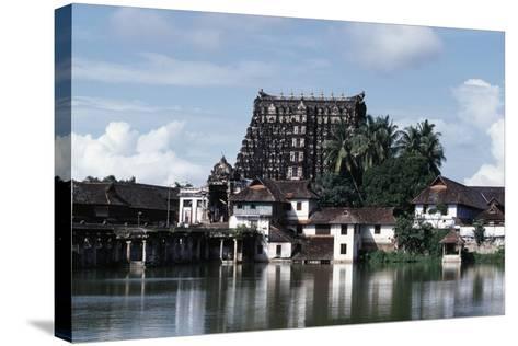 Sree Padmanabhaswamy Temple, Trivandrum (Thiruvananthapuram), Kerala, India--Stretched Canvas Print