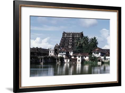 Sree Padmanabhaswamy Temple, Trivandrum (Thiruvananthapuram), Kerala, India--Framed Art Print