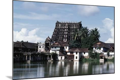 Sree Padmanabhaswamy Temple, Trivandrum (Thiruvananthapuram), Kerala, India--Mounted Giclee Print