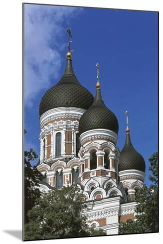 Low Angle View of a Cathedral, Alexander Nevsky Cathedral, Tallinn, Estonia--Mounted Giclee Print