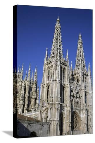 Gothic-Style Cathedral of Saint Mary in Burgos, Castile and Leon, Spain, 13th-16th Century--Stretched Canvas Print