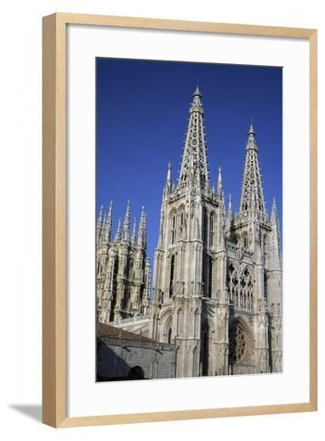Gothic-Style Cathedral of Saint Mary in Burgos, Castile and Leon, Spain, 13th-16th Century--Framed Art Print