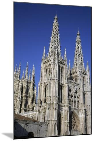 Gothic-Style Cathedral of Saint Mary in Burgos, Castile and Leon, Spain, 13th-16th Century--Mounted Giclee Print
