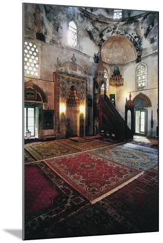Interior of Mosque in Mostar (Unesco World Heritage List, 2005), Bosnia and Herzegovina--Mounted Giclee Print