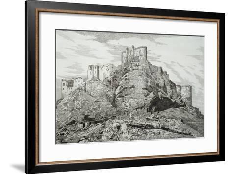 Abdullah Khan's Castle (Kurdistan), 1857, by Felix Thomas (1815-1875)--Framed Art Print