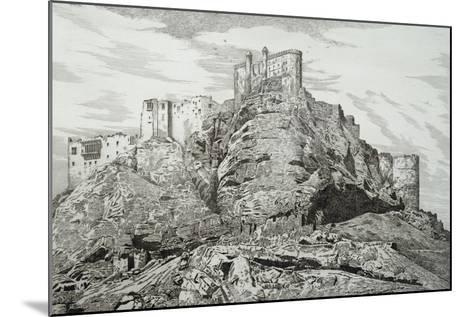 Abdullah Khan's Castle (Kurdistan), 1857, by Felix Thomas (1815-1875)--Mounted Giclee Print