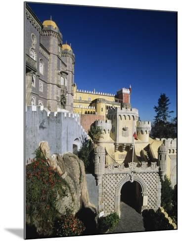 Pena National Palace, Sintra (Unesco World Heritage List, 1995), Portugal, 19th Century--Mounted Giclee Print