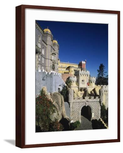 Pena National Palace, Sintra (Unesco World Heritage List, 1995), Portugal, 19th Century--Framed Art Print