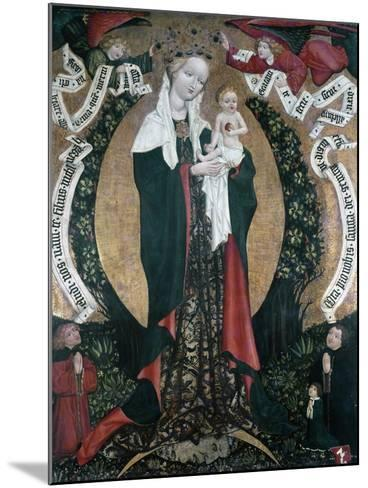 The Assumption of Destna, Ca 1450, by Unknown Artist, Bohemia, 15th Century--Mounted Giclee Print