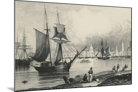 New Orleans in Louisiana, United States of America, 19th Century--Mounted Giclee Print