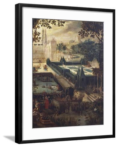 Garden of Love, Painting by Flemish School, 18th Century after Copy by David Vinckboons (1576-1632)--Framed Art Print