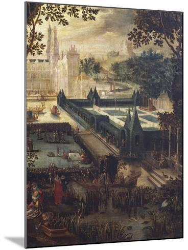 Garden of Love, Painting by Flemish School, 18th Century after Copy by David Vinckboons (1576-1632)--Mounted Giclee Print