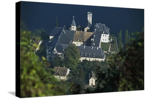 Hautecombe Abbey, Lake Bourget, Rhone-Alpes, France, 12th-19th Century--Stretched Canvas Print