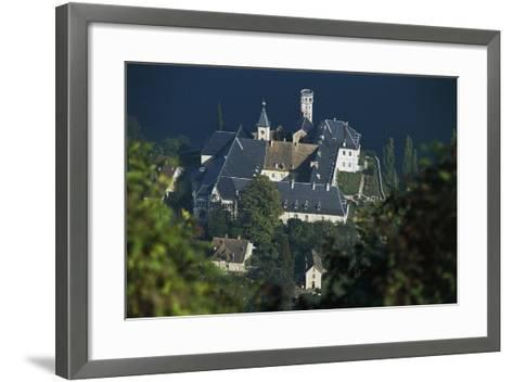 Hautecombe Abbey, Lake Bourget, Rhone-Alpes, France, 12th-19th Century--Framed Art Print