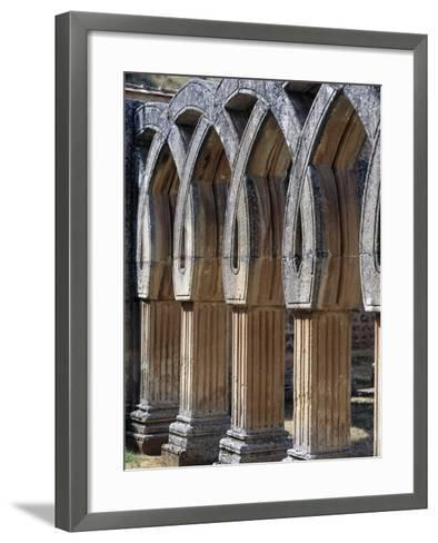 Capitals of Cloister of San Juan De Duero Monastery in Soria, Castile and Leon, Spain, 12th Century--Framed Art Print