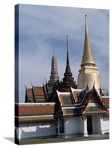 Wat Phra Kaew (Emerald Buddha Temple), Bangkok, Thailand, 18th Century--Stretched Canvas Print
