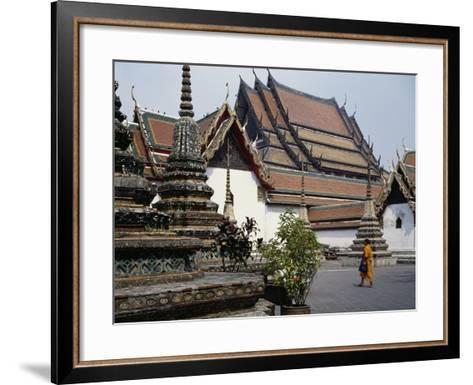 Temple of the Reclining Buddha, Wat Pho, Bangkok, Thailand, 18th Century--Framed Art Print
