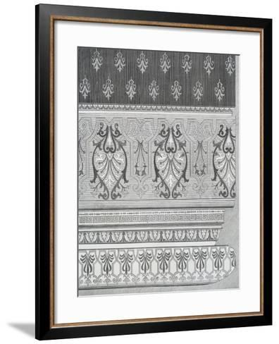 Room Decoration from Arts and Crafts Guide, England, 19th Century--Framed Art Print