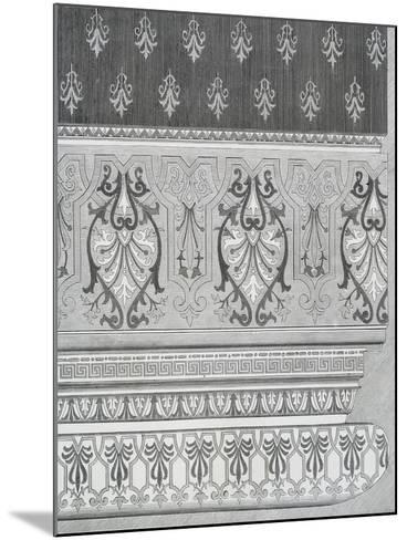 Room Decoration from Arts and Crafts Guide, England, 19th Century--Mounted Giclee Print