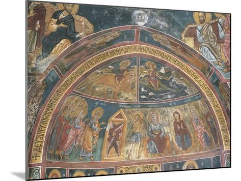 Paintings of Virgin Mary with Abraham, Panagia Ties Asinou Church, Nikitart, Cyprus--Mounted Giclee Print