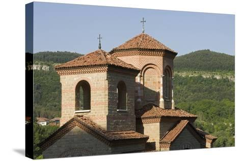 Towers of Church of St Demetrius of Thessaloniki, Founded in 1185, Veliko Tarnovo, Bulgaria--Stretched Canvas Print