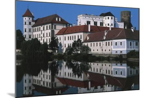 Jindrichuv Hradec Castle, Renaissance Style, Overlooking Fish Pond, Bohemia, Czech Republic--Mounted Photographic Print