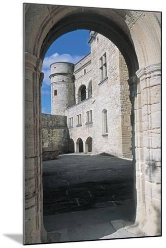 Archway of a Castle, Le Barroux Castle, Vaucluse, Provence-Alpes-Cote D'Azur, France--Mounted Photographic Print