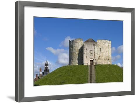 Clifford's Tower, Built by Henry III Between 1250-1275, York, North Yorkshire, United Kingdom--Framed Art Print