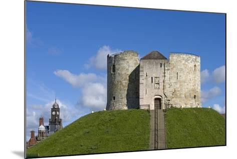 Clifford's Tower, Built by Henry III Between 1250-1275, York, North Yorkshire, United Kingdom--Mounted Photographic Print