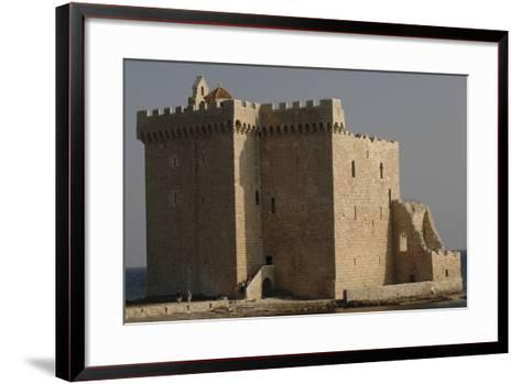 Low Angle View of a Monastery, Lerins, St. Honorat, Provence-Alpes-Cote D'Azur, France--Framed Art Print