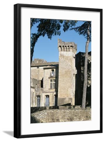Old Ruins of a Castle, St. Privat Castle, Gard Department, Languedoc-Rousillon, France--Framed Art Print