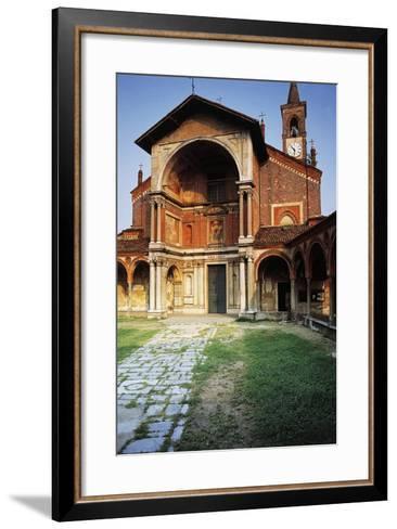 Basilica of St Mary Nuova, 14th Century-16th Century, Abbiategrasso, Lombardy, Italy--Framed Art Print