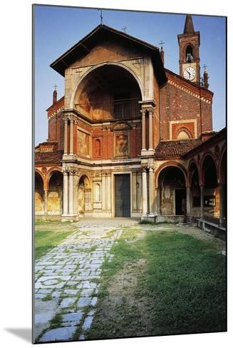 Basilica of St Mary Nuova, 14th Century-16th Century, Abbiategrasso, Lombardy, Italy--Mounted Photographic Print
