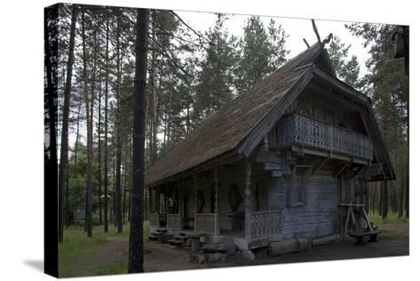 Girios Aidas (Echoes of Forest) Museum of Natural History, Druskininkai, Alytus County, Lithuania--Stretched Canvas Print