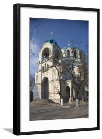 The Cathedral of St Nicholas the Miracle Worker (1899), Yevpatoria (Eupatoria), Crimea, Ukraine--Framed Art Print