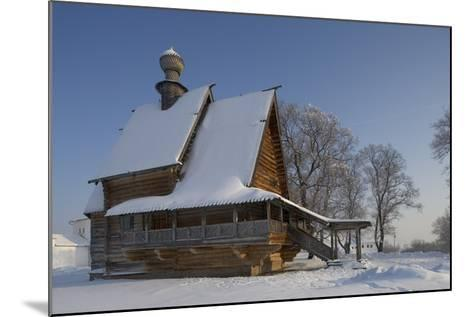 The Wooden Church of St Nicholas (1766), from Glotovo Village, Suzdal, Golden Ring, Russia--Mounted Photographic Print