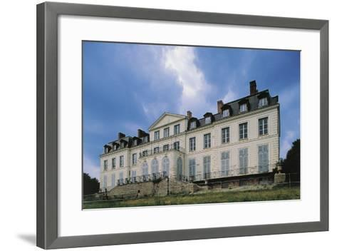 Southern Facade of Chateau of Sainte-Assise, 18th Century, Seine-Port, Ile-De-France, France--Framed Art Print