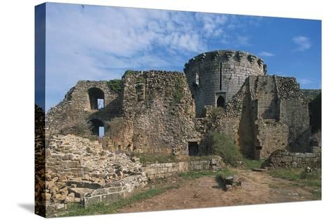 The Ruins of Chateau of Tonquedec, Originally from 12th Century, Brittany, France--Stretched Canvas Print