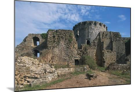 The Ruins of Chateau of Tonquedec, Originally from 12th Century, Brittany, France--Mounted Photographic Print