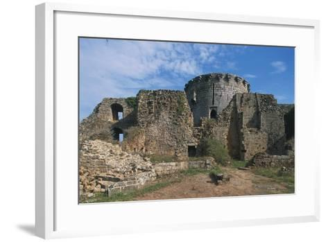 The Ruins of Chateau of Tonquedec, Originally from 12th Century, Brittany, France--Framed Art Print