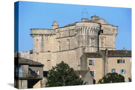 Gordes Castle (Chateau of Gordes), 16th Century, Provence-Alpes-Cote D'Azur, France--Stretched Canvas Print