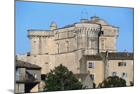 Gordes Castle (Chateau of Gordes), 16th Century, Provence-Alpes-Cote D'Azur, France--Mounted Photographic Print