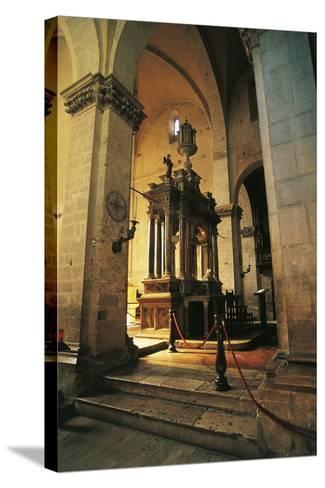 Altar in Massa Marittima Cathedral, 14th Century, Massa Marittima, Tuscany, Italy--Stretched Canvas Print