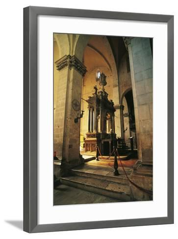 Altar in Massa Marittima Cathedral, 14th Century, Massa Marittima, Tuscany, Italy--Framed Art Print