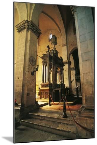 Altar in Massa Marittima Cathedral, 14th Century, Massa Marittima, Tuscany, Italy--Mounted Photographic Print