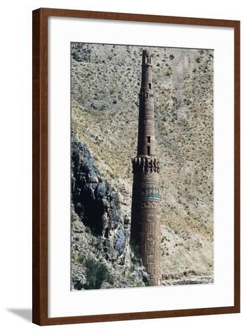 Minaret of Jam, 12th Century (Unesco World Heritage List, 2002), Ghowr Province, Afghanistan--Framed Art Print