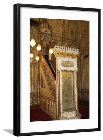 Great Mosque of Muhammad Ali Pasha or Alabaster Mosque, 19th Century, Cairo Citadel, Egypt--Framed Art Print