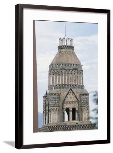 Bell Tower of the Cathedral of the Assumption and St Erasmus, 1148-1279, Gaeta, Lazio, Italy--Framed Art Print