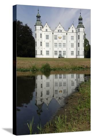 Ahrensburg Castle, Built in Renaissance Style in 16th Century, Schleswig-Holstein, Germany--Stretched Canvas Print